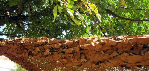 Comment attacher son filet de camouflage pour son jardin ?