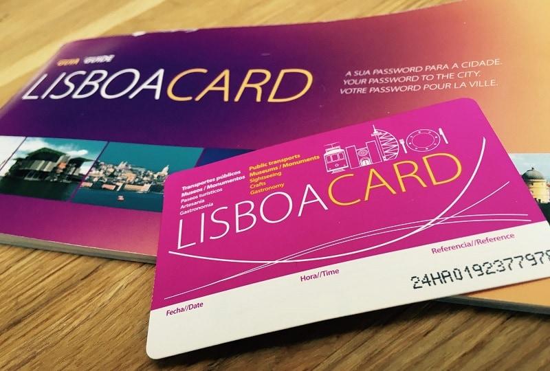 lisboa card, le pass pour visiter la ville de Lisbonne