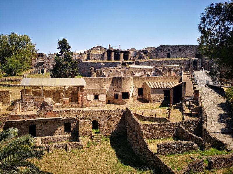 Visiter le site de Pompéi