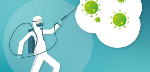 Le nettoyage et la désinfection dans le milieu des entreprises