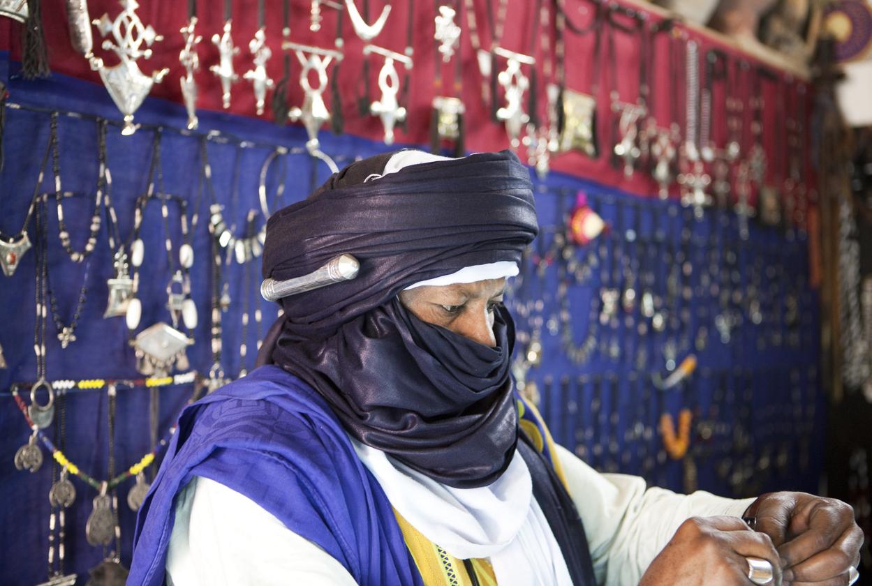 Les symboliques des bijoux de l'artisanat touareg